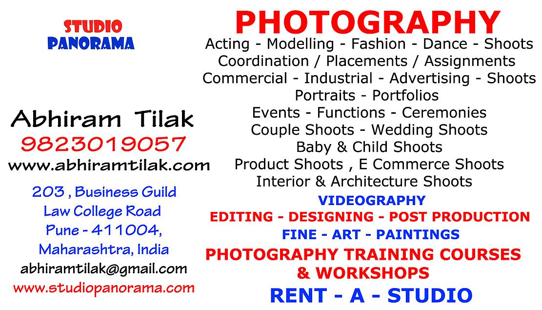 photographer , fine - art - painter , Designer , trainer